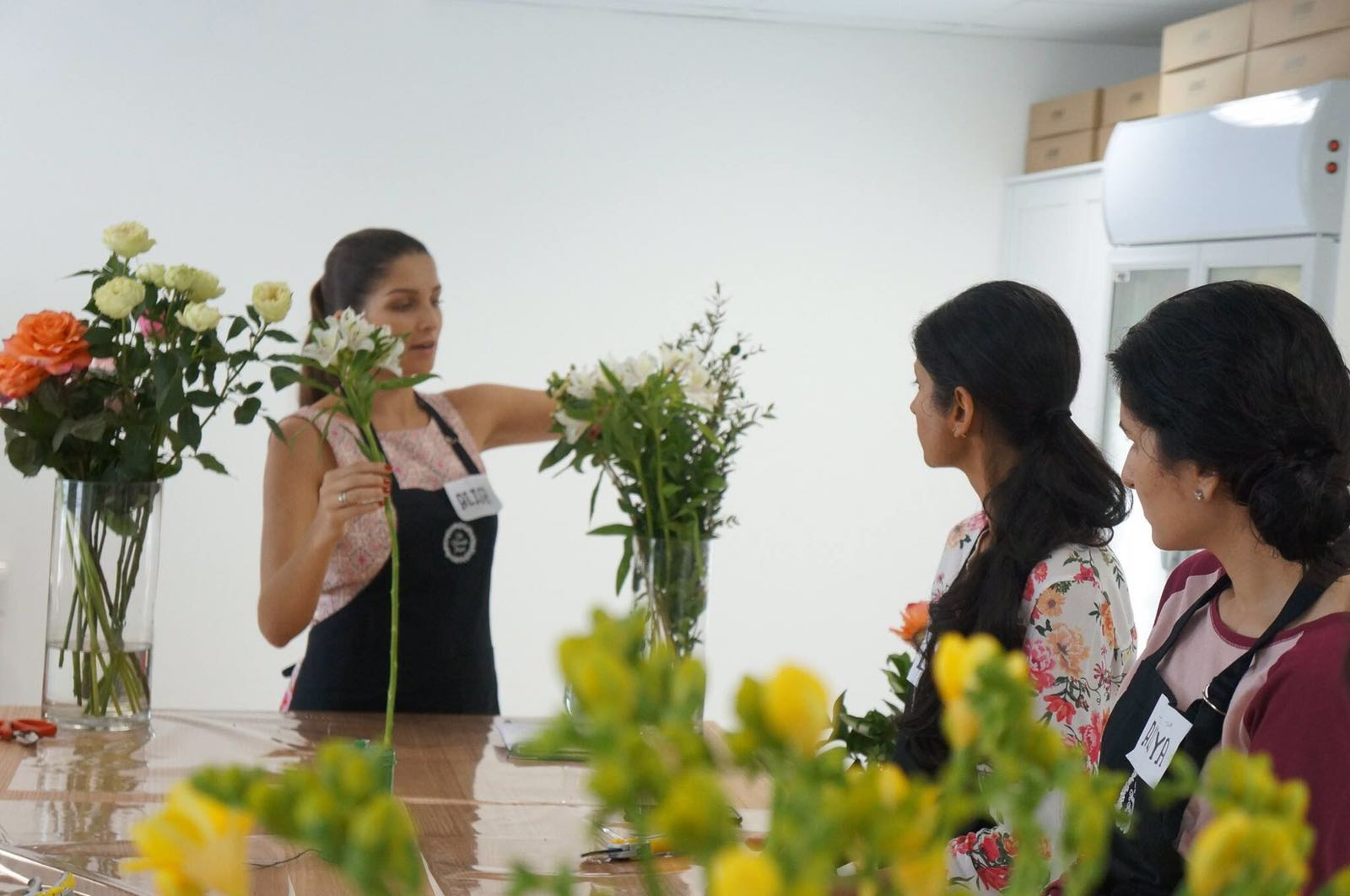 Flower care workshop