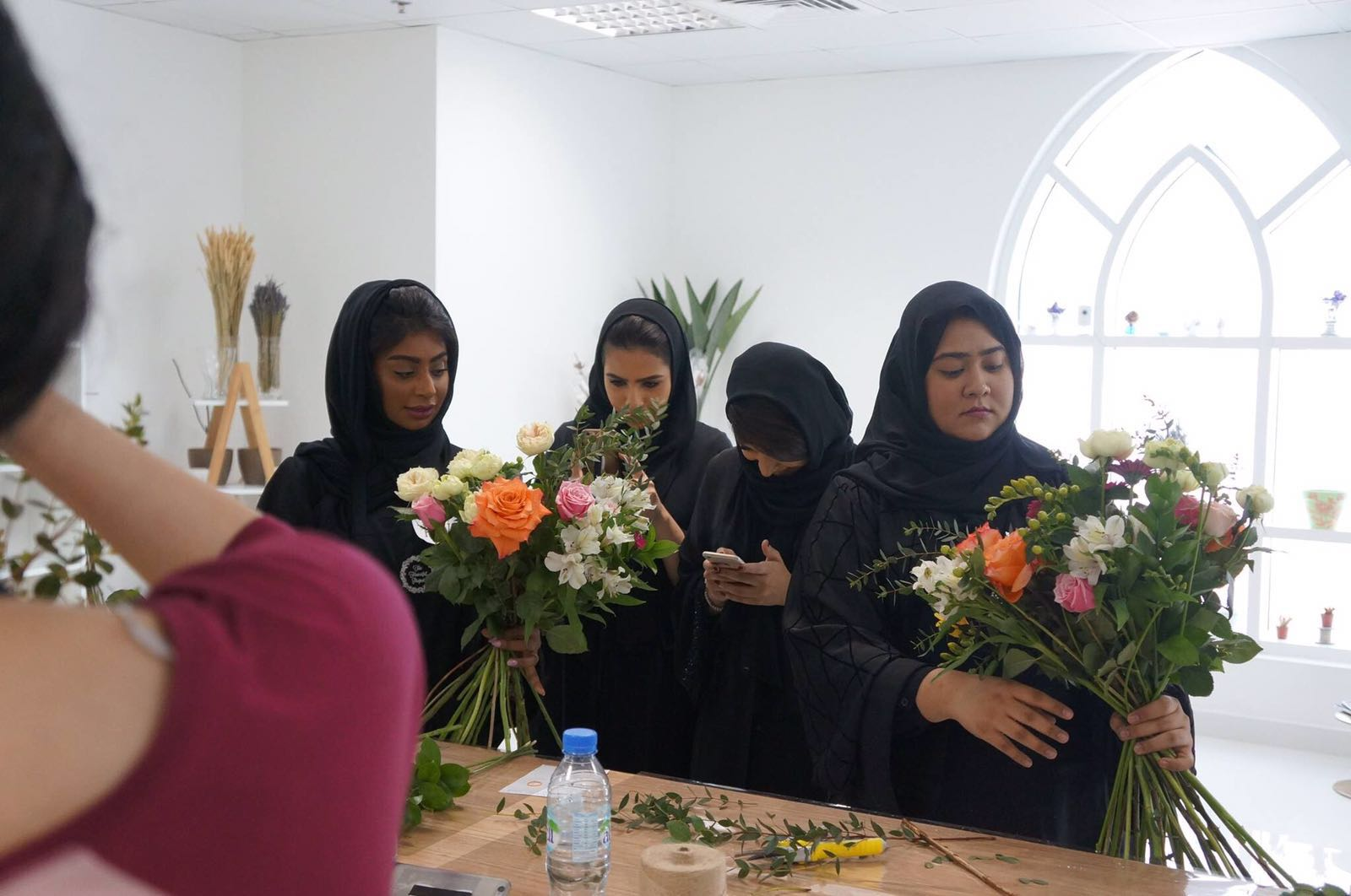 Flowerful project workshop participants