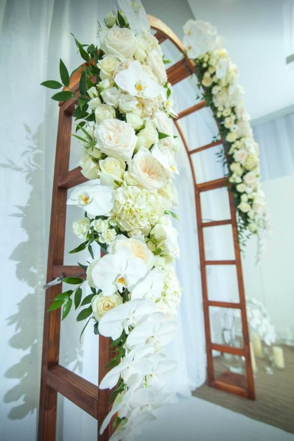 Bridal room Arch Decor