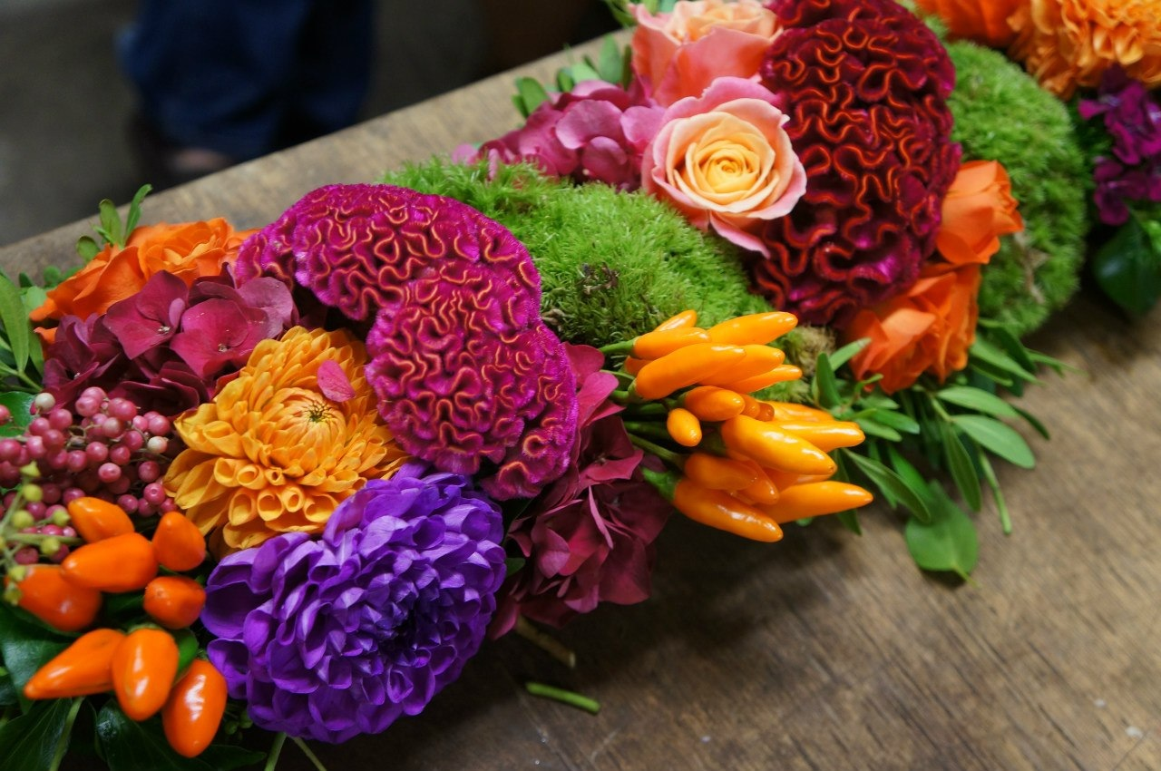 Colorfull Corporate Flower Decor