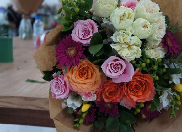 Seasonal Hand-Tied Bouquet Workshop