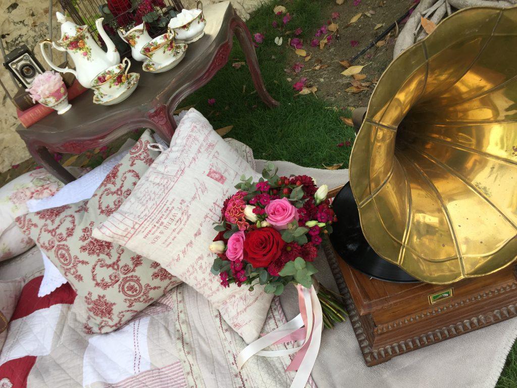 Vintage Flower Decoration